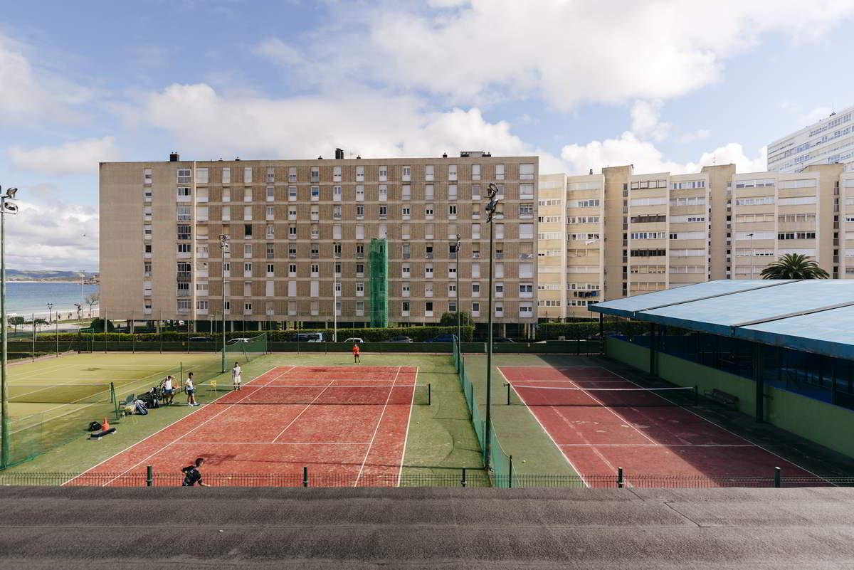 Instalaciones de tenis